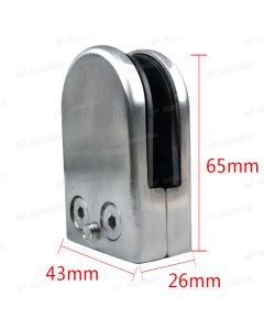 Glass Balustrade Glass Clamp 10mm 12mm