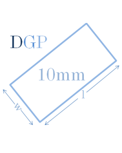 Glass Partitioning 10mm Toughened Glass Panel (2190mm x 450mm x 10mm)
