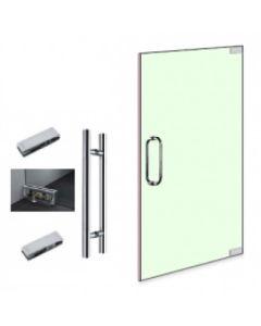 Internal Glass Partition Door 2460mm x 900mm - 10mm glass