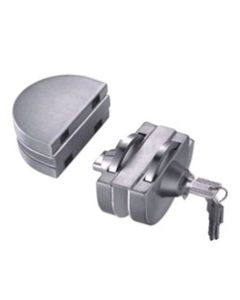 Axis HD-240 Polished Glass Door Lock for 10mm and 12mm glass
