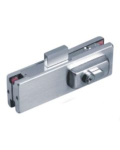 Axis Patch Lock Polished Glass Door Lock for 10mm and 12mm glass