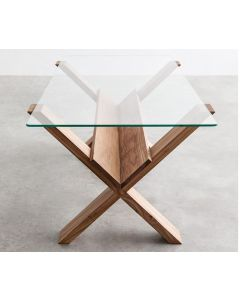2400mm x 1400mm Rectangle Glass Table Top With Bevelled Edges (Rounded Corners) and Packaging