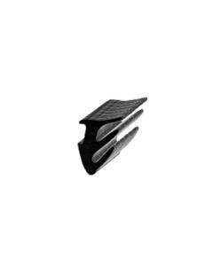 Glass Partition Glazing Gasket - Rubber Gasket BLACK