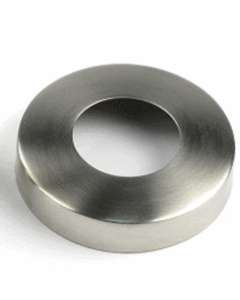 Polished Stainless Steel Spigot Cover for Glass Balustrade