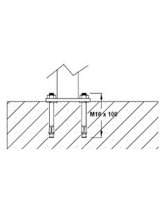 Stainless Steel Spigot for Glass Balustrade